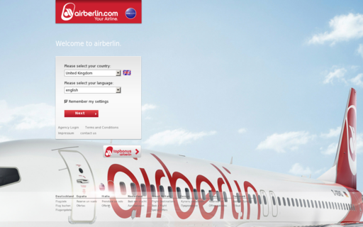 Access airberlin.com using Hola Unblocker web proxy