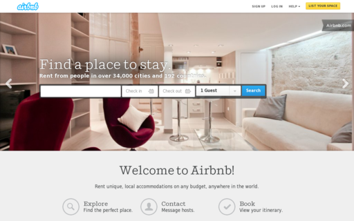 Access airbnb.ca using Hola Unblocker web proxy