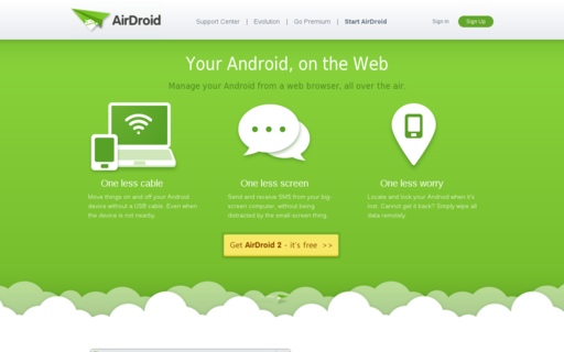 Access airdroid.com using Hola Unblocker web proxy