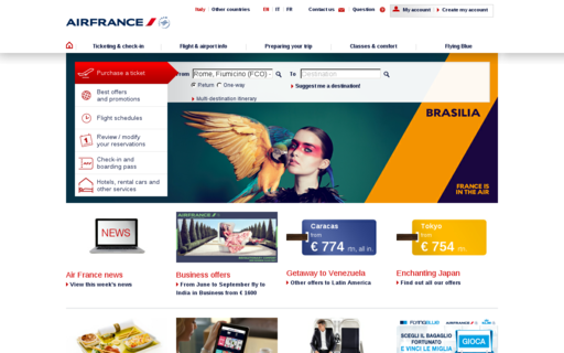 Access airfrance.it using Hola Unblocker web proxy