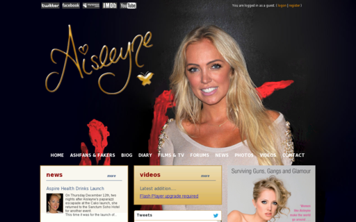 Access aisleyne.com using Hola Unblocker web proxy
