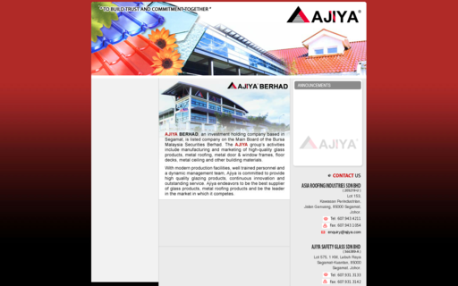 Access ajiya.com using Hola Unblocker web proxy