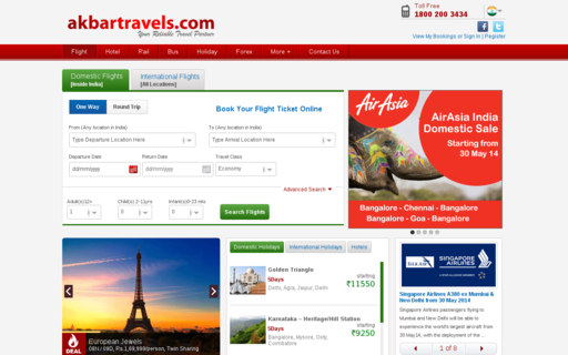 Access akbartravels.com using Hola Unblocker web proxy