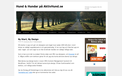 Access aktivhund.se using Hola Unblocker web proxy