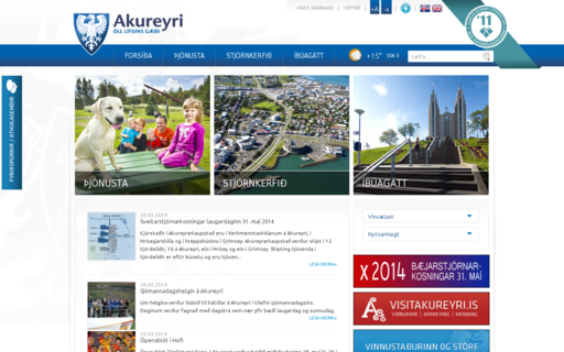 Access akureyri.is using Hola Unblocker web proxy