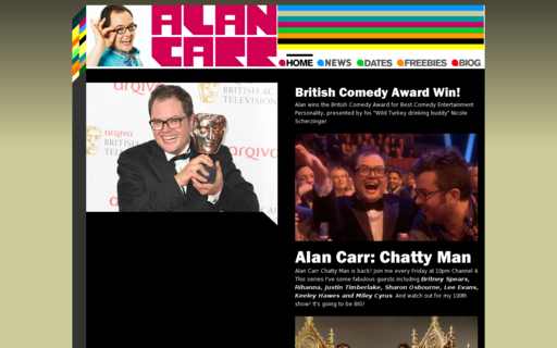 Access alancarr.net using Hola Unblocker web proxy