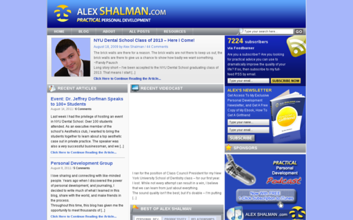 Access alexshalman.com using Hola Unblocker web proxy