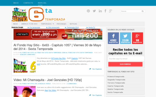 Access alfondosihaysitio.tv using Hola Unblocker web proxy