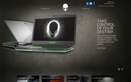Access alienware.ie using Hola Unblocker web proxy