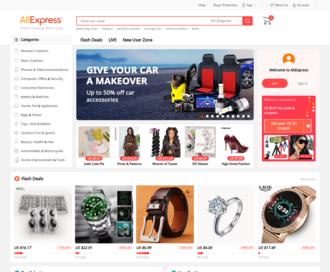 Access aliexpress.com using Hola Unblocker web proxy