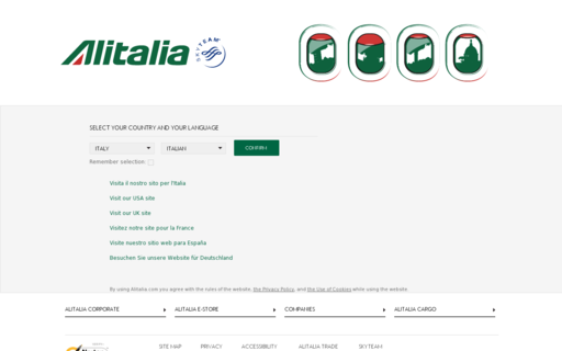 Access alitalia.com using Hola Unblocker web proxy