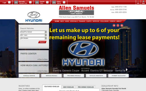 Access allensamuelshyundaifortworth.com using Hola Unblocker web proxy