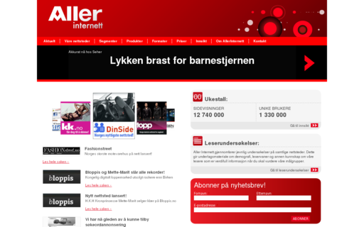 Access allerinternett.no using Hola Unblocker web proxy