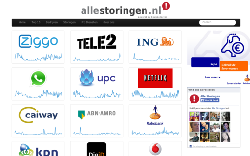 Access allestoringen.nl using Hola Unblocker web proxy