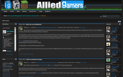 Access allied-gamers.com using Hola Unblocker web proxy