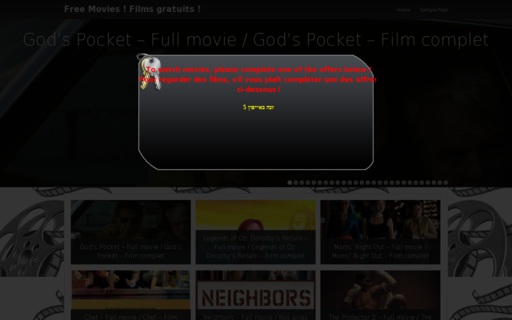 Access allmovieslive.com using Hola Unblocker web proxy