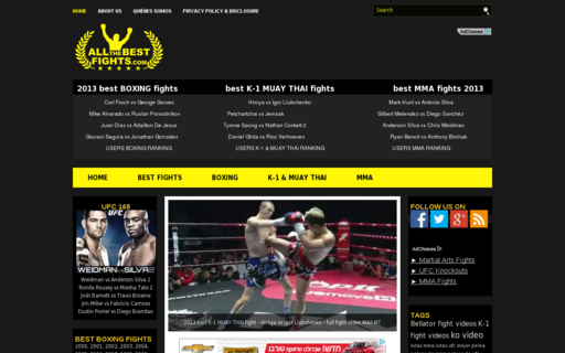 Access allthebestfights.com using Hola Unblocker web proxy