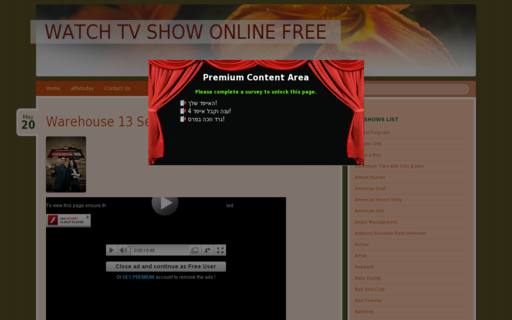 Access alltvtoday.com using Hola Unblocker web proxy