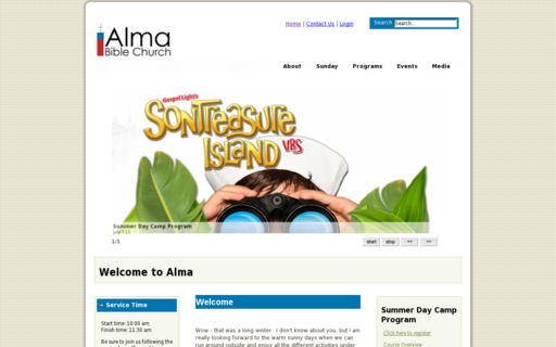 Access almabiblechurch.ca using Hola Unblocker web proxy
