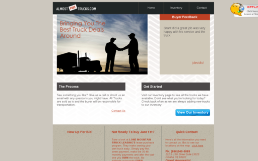 Access almostfreetrucks.com using Hola Unblocker web proxy