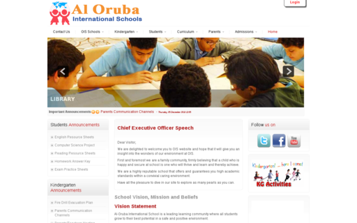 Access alorubaschools.com using Hola Unblocker web proxy