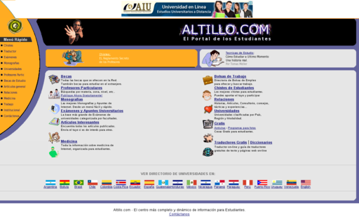 Access altillo.com using Hola Unblocker web proxy