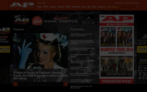 Access altpress.com using Hola Unblocker web proxy