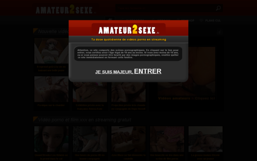 Access amateur2sexe.fr using Hola Unblocker web proxy