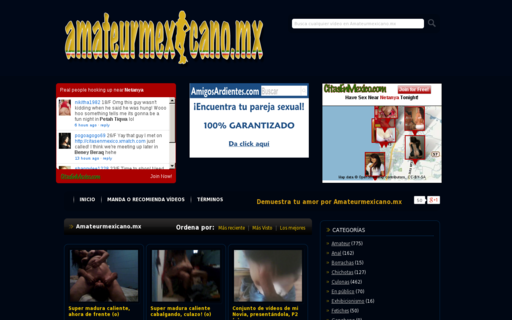 Access amateurmexicano.mx using Hola Unblocker web proxy