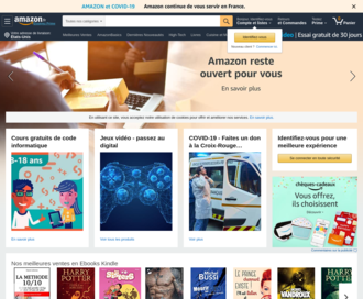 Access amazon.fr using Hola Unblocker web proxy