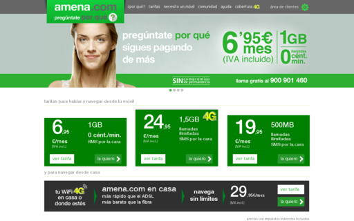 Access amena.com using Hola Unblocker web proxy