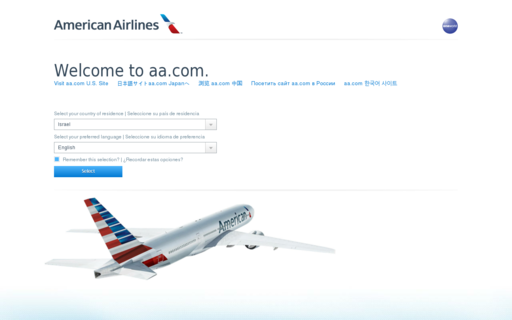 Access americanairlines.com using Hola Unblocker web proxy