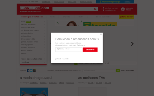 Access americanas.com.br using Hola Unblocker web proxy
