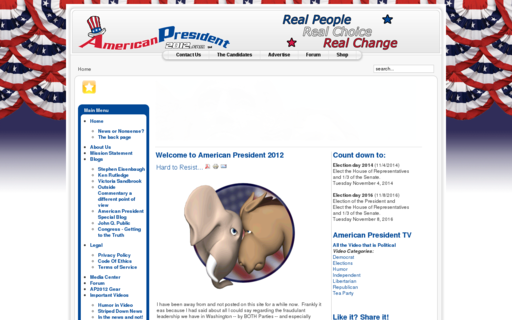 Access americanpresident2012.com using Hola Unblocker web proxy