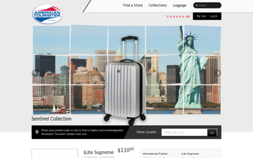 Access americantourister.ca using Hola Unblocker web proxy