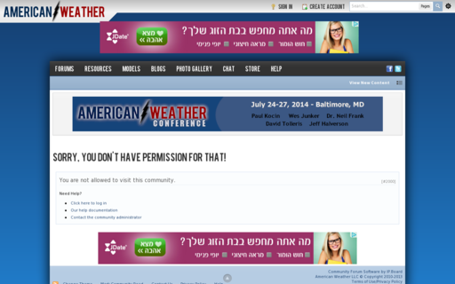 Access americanwx.com using Hola Unblocker web proxy