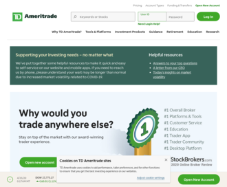 Access ameritrade.com using Hola Unblocker web proxy