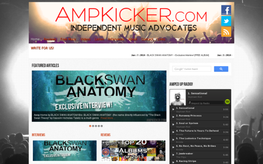 Access ampkicker.com using Hola Unblocker web proxy