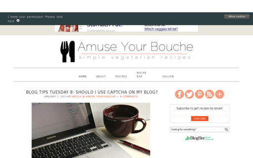 Access amuse-your-bouche.com using Hola Unblocker web proxy
