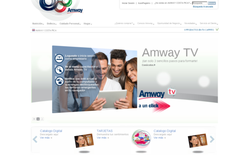 Access amway.co.cr using Hola Unblocker web proxy