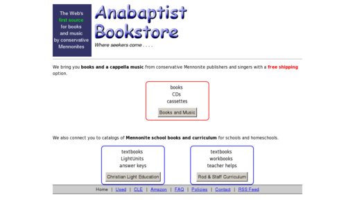Access anabaptistbooks.com using Hola Unblocker web proxy