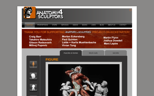 Access anatomy4sculptors.com using Hola Unblocker web proxy
