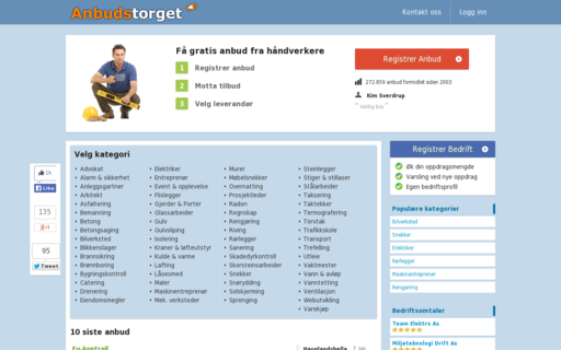 Access anbudstorget.no using Hola Unblocker web proxy