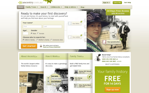 Access ancestry.com.au using Hola Unblocker web proxy