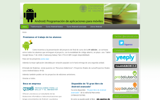 Access androidcurso.com using Hola Unblocker web proxy