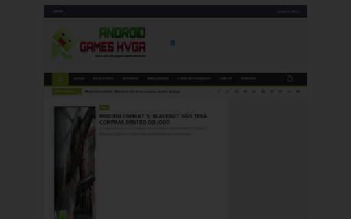 Access androidgameshvga.com using Hola Unblocker web proxy