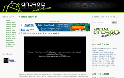 Access androidnews24.com using Hola Unblocker web proxy