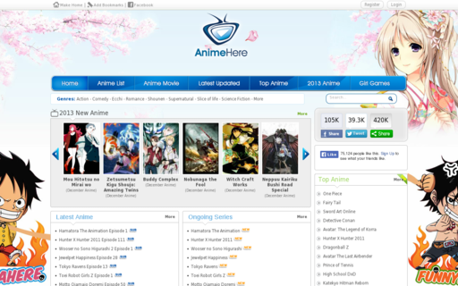 Access animehere.com using Hola Unblocker web proxy