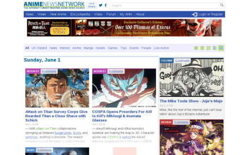 Access animenewsnetwork.co.uk using Hola Unblocker web proxy