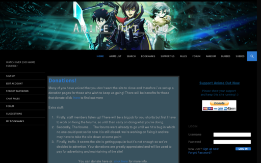 Access animeoutnow.com using Hola Unblocker web proxy